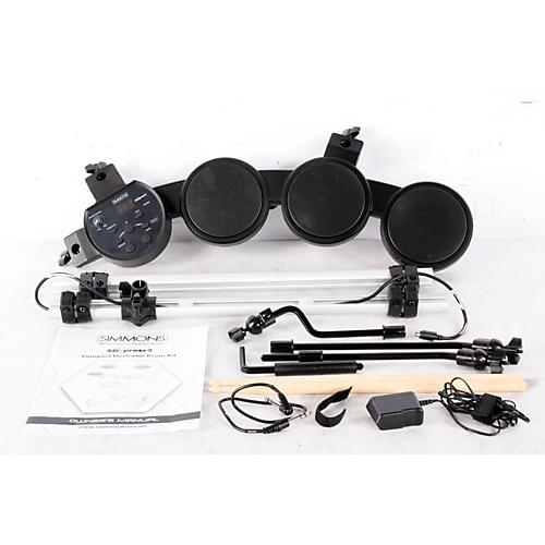 Simmons SDXpress2 Compact 5-Piece Electronic Drum Kit  888365205625
