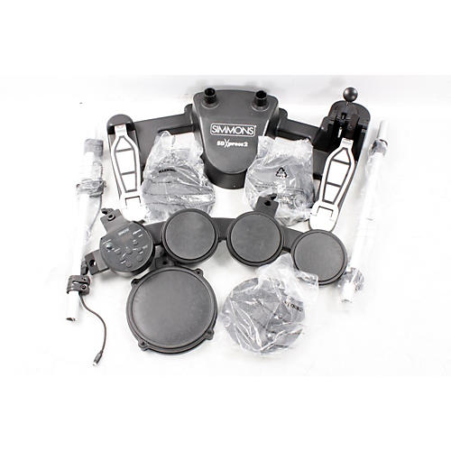 Simmons SDXpress2 Compact 5-Piece Electronic Drum Kit  888365366074