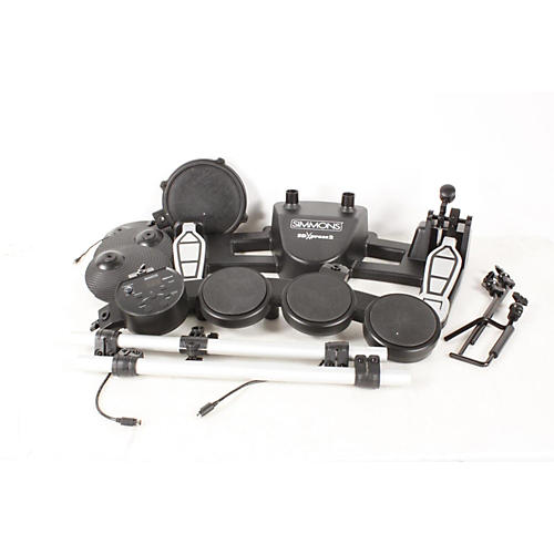 Simmons SDXpress2 Compact 5-Piece Electronic Drum Kit  888365379050