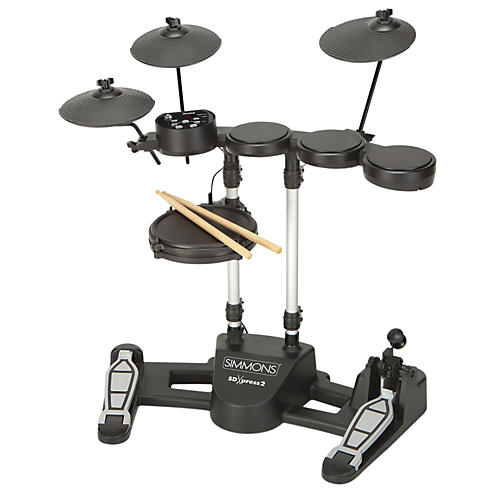 Simmons SDXpress2 Compact 5-Piece Electronic Drum Kit-thumbnail