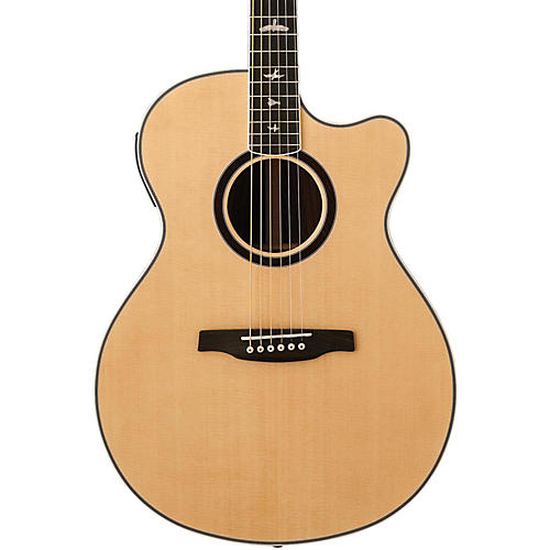 PRS SE Angelus Custom Piezo Acoustic-Electric Guitar Natural