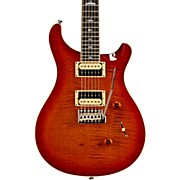 PRS SE Custom 24 Creme Binding Electric Guitar