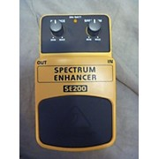 Behringer SE200 Spectrum Enhancer Bass Effect Pedal