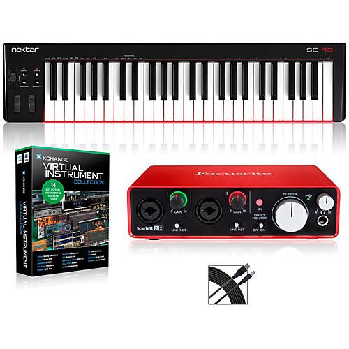 Nektar SE49 49-Key USB MIDI Keyboard Controller Packages-thumbnail