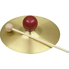 "Rhythm Band SE732S 7"" Cymbal with Knob and Mallet"