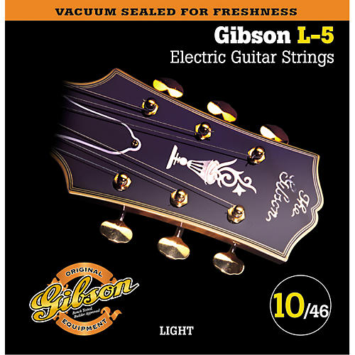 Gibson SEG-900L Light L5 Pure Nickel Wound Jazz Electric Guitar Strings