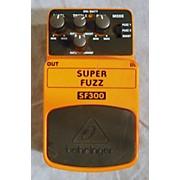 Behringer SF 300 SUPER FUZZ Effect Pedal