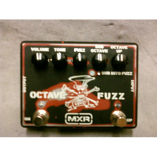 Dunlop SF01 Slash Signature Octave Fuzz Effect Pedal