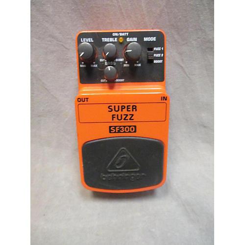 Behringer SF300 SUPER FUZZ Effect Pedal-thumbnail