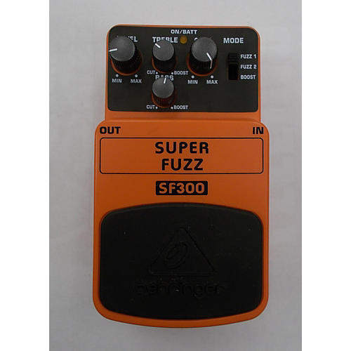 Behringer SF300 Super Fuzz Effect Pedal