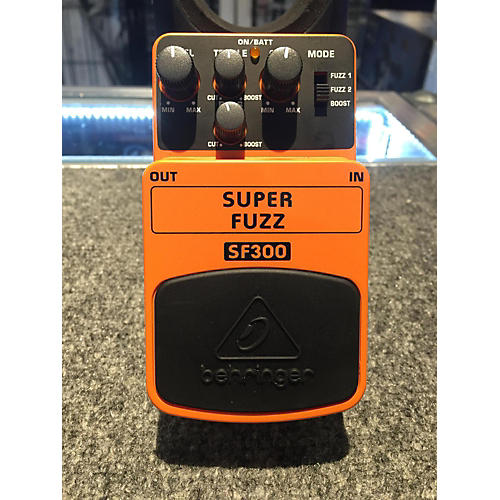 Behringer SF300 Super Fuzz Effect Pedal-thumbnail