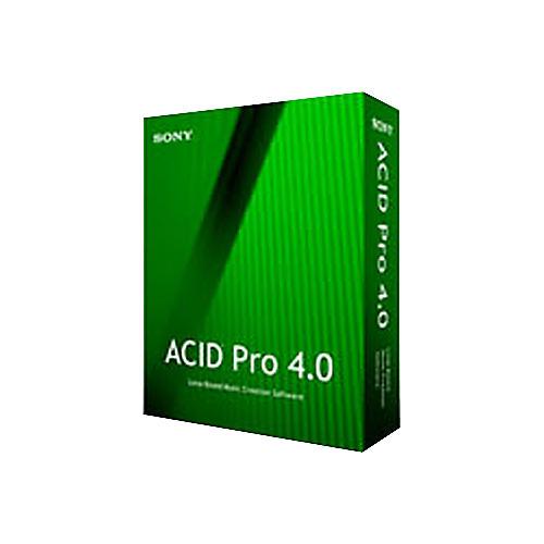 Sony SFAC4000 ACID Pro 4.0