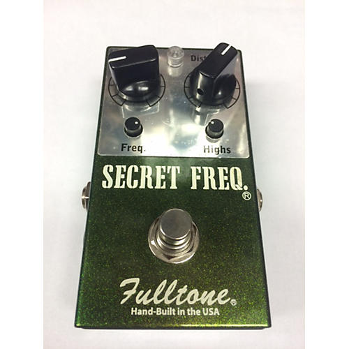 Fulltone SFQ Secret Frequency Overdrive Distortion Effect Pedal