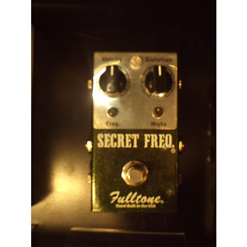 Fulltone SFQ Secret Frequency Overdrive Distortion Effect Pedal-thumbnail