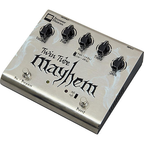 Seymour Duncan SFX-04 Twin Tube Mayhem Distortion Guitar Effects Pedal