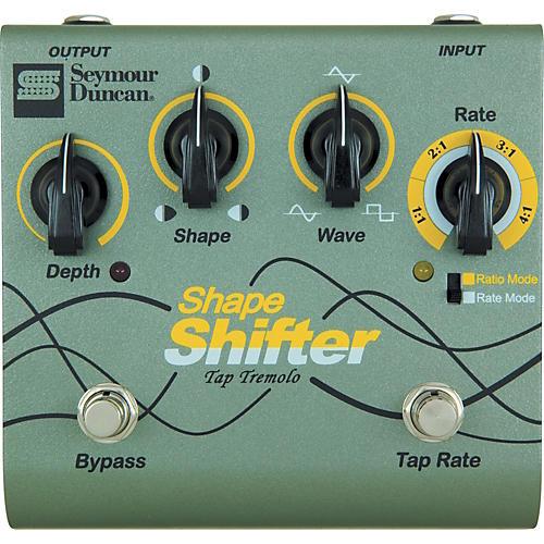 Seymour Duncan SFX-07 Shape Shifter Tap Tremolo Guitar Effects Pedal