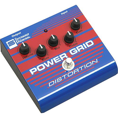 Seymour Duncan SFX-08 Power Grid Distortion Guitar Effects Pedal