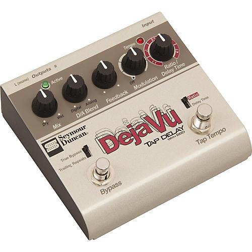 Seymour Duncan SFX-10 Deja Vu Tap Delay With BBD Guitar Effects Pedal-thumbnail