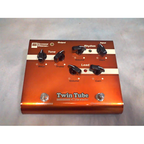 Seymour Duncan SFX03 Twin Tube Classi Distortion Effect Pedal-thumbnail