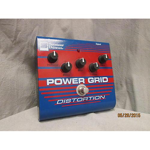 Seymour Duncan SFX08 Power Grid Distortion Effect Pedal