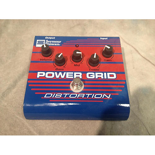 Seymour Duncan SFX08 Power Grid Distortion Effect Pedal-thumbnail