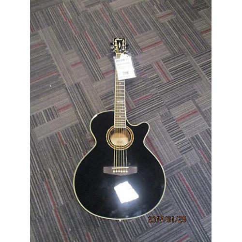 Cort SFX5 BK Acoustic Electric Guitar-thumbnail
