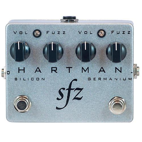 Hartman Electronics SFZ Dual Stage Fuzz Guitar Effects Pedal
