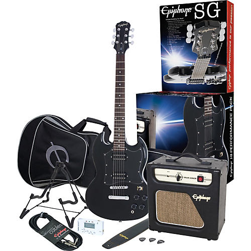 Epiphone SG-310 Hi-Performance Electric Guitar Pack with Valve Junior Amp