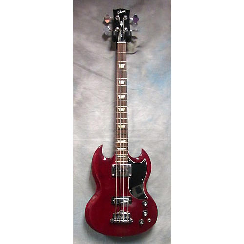 Gibson SG Bass Cherry Electric Bass Guitar-thumbnail