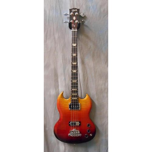 Gibson SG Bass Supreme Week 18 Guitar Of The Week Fireburst Electric Bass Guitar