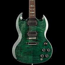 Gibson Custom SG Elegant Figured - Solid Body Electric Guitar Green