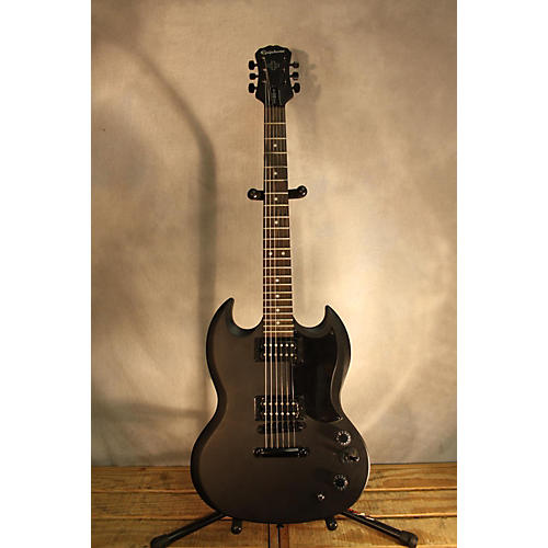 Epiphone SG Goth LTD Solid Body Electric Guitar-thumbnail