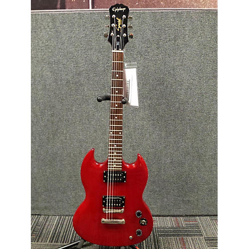 Epiphone SG Special Red Solid Body Electric Guitar-thumbnail