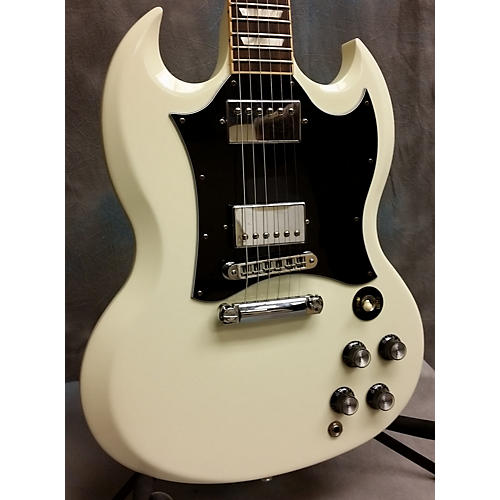 Gibson SG Standard Antique White Solid Body Electric Guitar