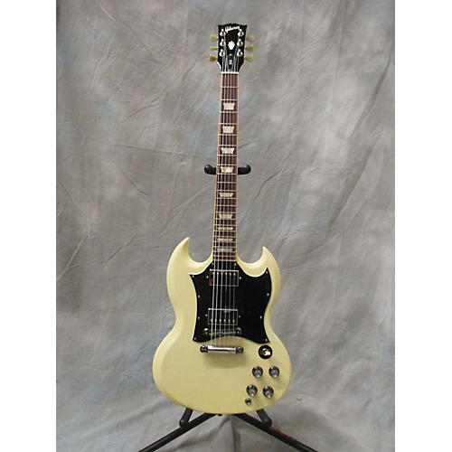 Gibson SG Standard Cream Solid Body Electric Guitar-thumbnail