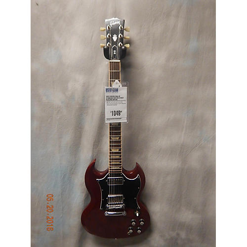 Gibson SG Standard Solid Body Electric Guitar Red