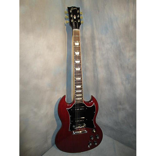 Gibson SG Standard T P90 Solid Body Electric Guitar Heritage Cherry