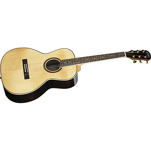 Great Divide SGOH-28-G Parlor Solid Sitka Spruce Top Acoustic Guitar