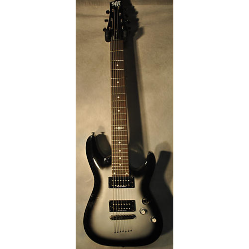 Schecter Guitar Research SGR C7 With Upgraded Duncans Solid Body Electric Guitar-thumbnail
