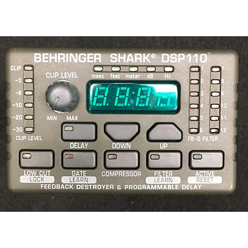 Behringer SHARK DSP110 Microphone Preamp-thumbnail