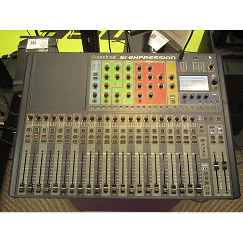 used soundcraft si expression 2 digital mixer guitar center. Black Bedroom Furniture Sets. Home Design Ideas
