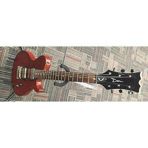Dean SINGLE CUT AWAY Solid Body Electric Guitar Brown