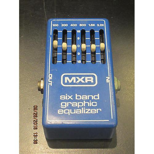 MXR SIX BAND EQ Pedal-thumbnail