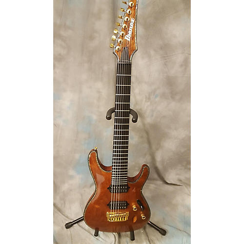 Ibanez SIX27FDBG Iron Label 7 String Solid Body Electric Guitar-thumbnail