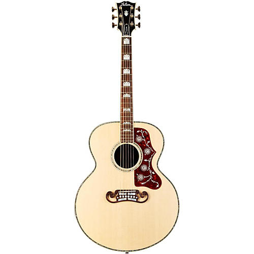 Gibson SJ-200 American Walnut Custom Anniversary Acoustic-Electric Guitar Antique Natural