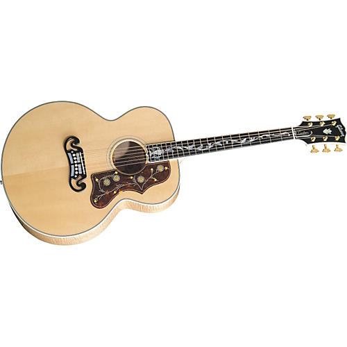 Gibson SJ-200 Vine Acoustic Guitar Antique Natural