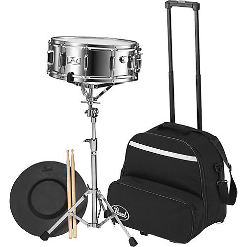 Pearl SK-800C Steel Snare with Rolling Cart-thumbnail