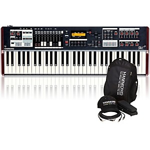 Hammond SK1 61 Key Digital Stage Keyboard and Organ with Keyboard Accessory... by Hammond