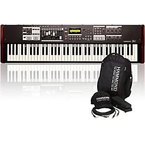 Hammond SK1-73 73 Key Digital Stage Keyboard and Organ with Keyboard Access...