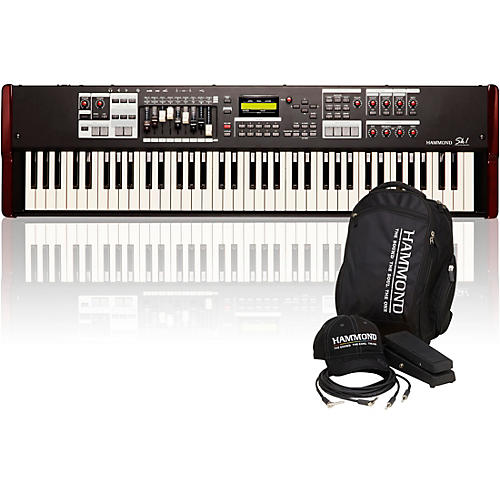 Hammond SK1-73 73 Key Digital Stage Keyboard and Organ with Keyboard Accessory Pack-thumbnail